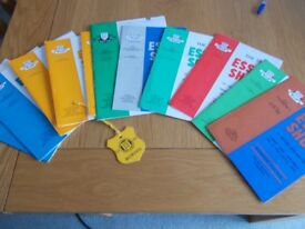 Essex County Show programmes form 1970s/80s