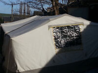 Conway Camargue Trailer Tent 1990 ish, with 1 extension metre panel & Frame