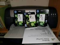 HP 1280 A3 printer with extra inks