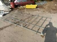 Galvanised roof rack fits Peugeot expert Citroën dispatch fiat scudo may fit other models