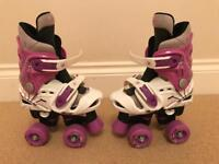 Girls Quad Roller Skates