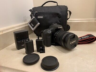 Canon EOS 70D, 18-135mm Lens, ThinkTank Suburban Disguise 10 and Accessories