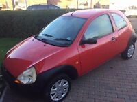 Ford Ka mot till end of march spares or repair