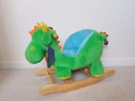 Rocking Dragon for children more fun than horse!