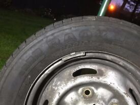 Selling ford transit van tire