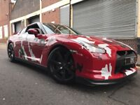 Nissan Gt-R 2009 3.8 V6 Black Edition 2 door AUTOMATIC, 700BHP SVM STAGE 4.25...