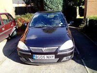 Vauxhall Corsa SXI 1.4 petrol manual.Black.