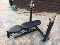 Gym Bench Press - Powertec Workbench