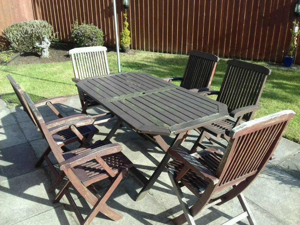 Patio Furniture Table Amp 6 Chairs In Ballymena County