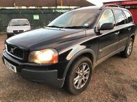 Volvo XC 90 T6 SE AWD Semi-Auto 2922cc Petrol Automatic 7 Seat 4x4 Estate 03 Plate 21/05/2003 Black