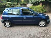 1999 Renault Clio 1.2 manual tax and mot
