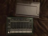 Roland TR-8 with Decksaver Cover
