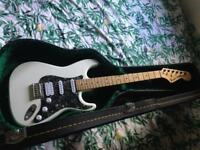 Fender Strat and Vox amp