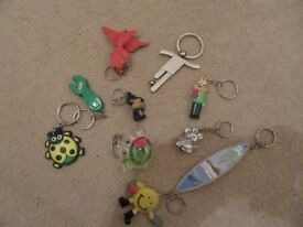 Selection of key rings - 10