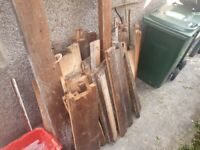 Scrap wood available free if collected