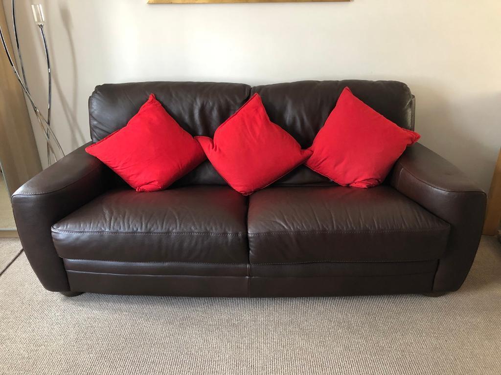 Sofitalia Leather Suite