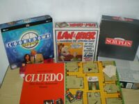 ALL BOXED BOARD GAMES