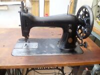 Singer industrial sewing machine Model 45K(FOR LEATHER, BOUNCY CASTLES)