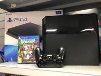 PS4 1tb plus crash game