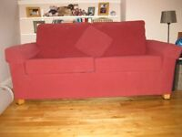 Small sofa bed - 2 seater