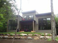 Maison Estrie, Parc Orford, 2ieme rangée Grand Lac Brompton!!