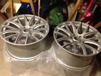 "22"" onyx alloy wheels Range Rover / discovery"