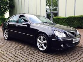 2006 (56)Mercedes-Benz C Class 3.5 C350 Avantgarde SE 7G-Tronic 4dr NAV LEATHER XENONS SUNROOF FSH