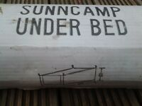 sunncamp trailer tent under bed