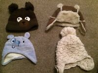 Winter hats - Ages 1-3 -New