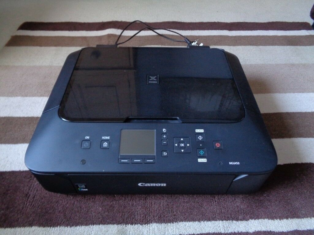Canon PIXMA MG6450 Colour Inkjet Printer/Copier/Scanner + Spare Inks WiFi  15ppm 4800dpi A4 | in Aylsham, Norfolk | Gumtree