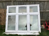 Triple glazed windows used,but in very good condition set of 2 but different size s
