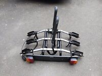Cycle Carrier Thule (3 bikes) tow hitch mounted