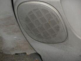 Pair of Door Speakers & Mesh Guard for (95)Delica Space Gear L400