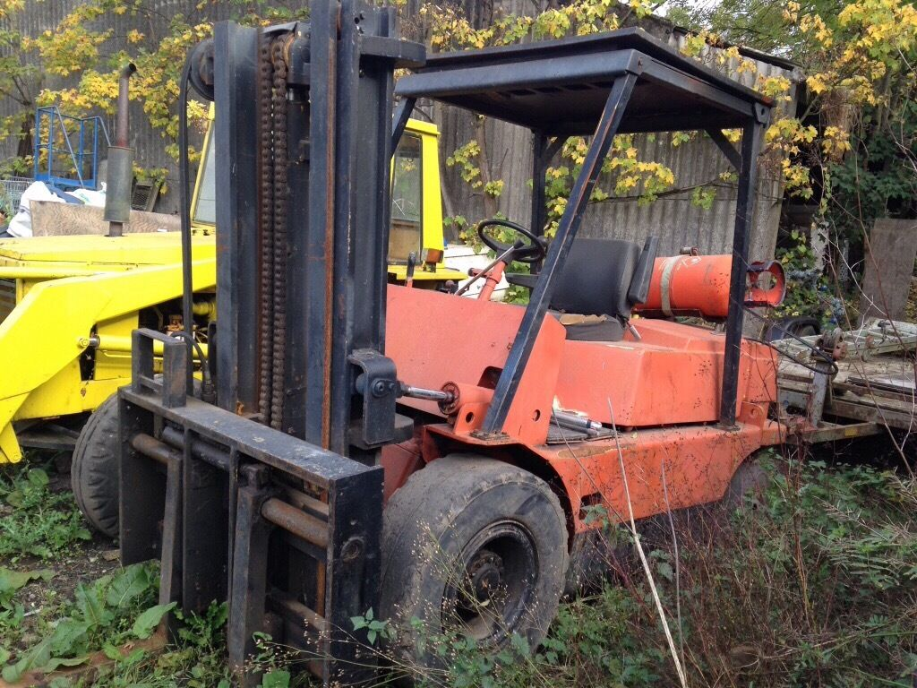 Climax 5ton gas forklift