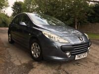 2007 Peugeot 307 1.4 S With Only 67,000 Miles! Supplied with 12 Months MOT! One Owner! Cheap!