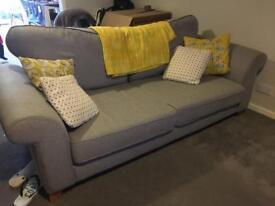 Stylish nearly new sofa quick sale!