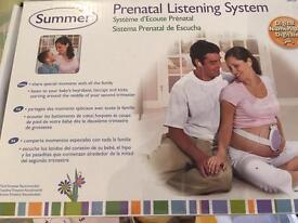 Prenatal listening system