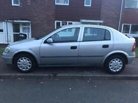 Quick Sale! Automatic Vauxhall Astra, 1 year MOT, full service history. £495 ONO