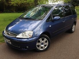 Ford Galaxy 1.9Tdi - Low Mileage - 2 Keys - Service History - Warranty