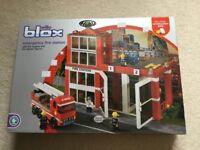 Building blox fire station set