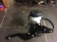 Front brake unit