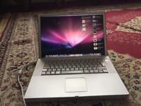 4 Apple laptop