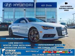 2016 Audi A7 3.0T QUATTRO|WINTER TIRES WITH RIMS|NAV|SUNROOF|