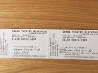 Grand theatre tickets Blackpool for Aida