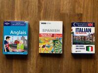 Spanish, French, Italian pocketbook