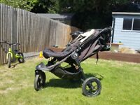 Great Condition, only one happy user Baby Jogger City Elite Pushchair, Black