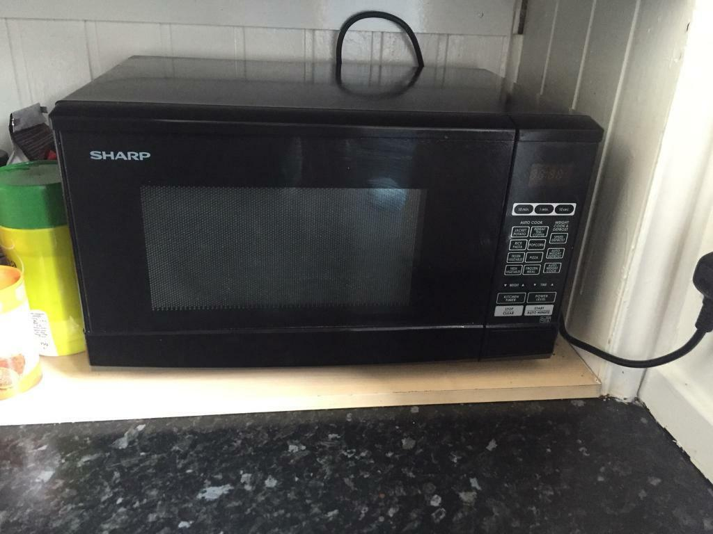 Sharp 800w Microwave