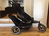 Phil and Ted's Explorer double pushchair