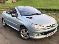 2004 Peugeot 206 1.6 convertible