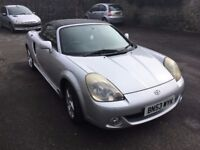 2003 TOYOTA MR2 1.8 ROADSTER CONVERTIBLE